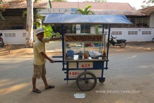 Street food i Phnohm Penh Foto: Reiselykke