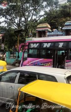 Trafikk i Bangalore