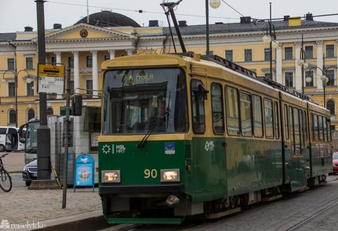 Trikk i Helsinki