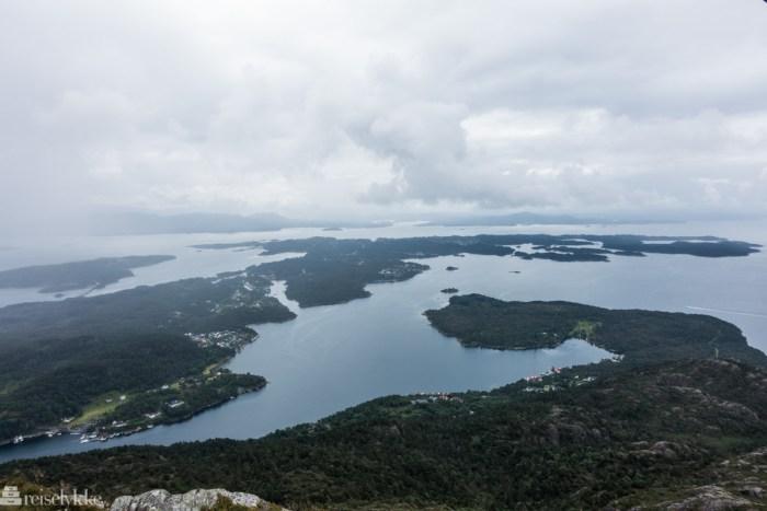 Utsikt fra Siggjo