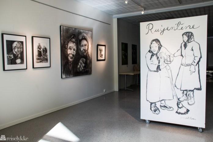 Utstilling om Rui-jentene av Gunn Marit Sanden