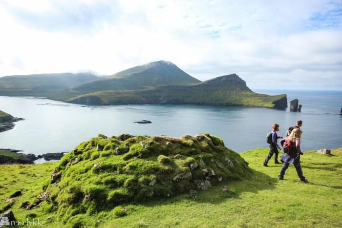 Vandretur på Færøyene
