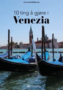10 ting å gjøre i Venezia.