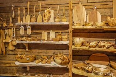 Schönes Kunsthandwerk aus Holz
