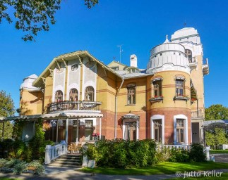 Die Villa Ammende in Pärnu, 1905 erbaut, ist heute ein Jugendstil-Hotel.