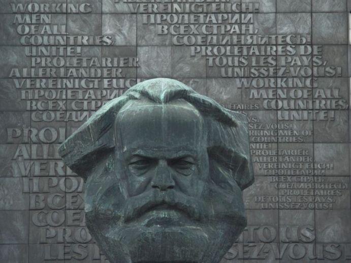 """Der """"Nischel"""" von Karl Marx - das bekannteste Wahrzeichen von Chemnitz. Foto: CWE"""