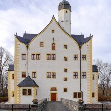 Wasserschloss Klaffenbach mit Restaurant