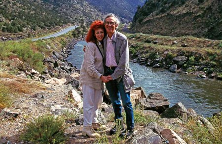 Over The River - Christo and Jeanne-Claude at the Arkansas River Colorado