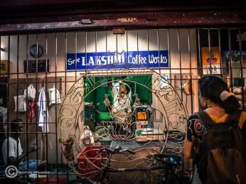 Lakshmi, dieses Mal der Name für Kaffee
