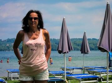 """Open your mind"" fällt am Lago di Monate leicht."