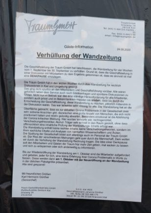 Kieler Wand, Gäste-Info