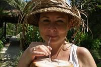 Barbara Blunschi in Ubud