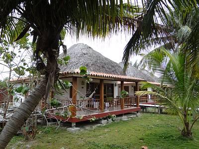 Bungalow auf der Insel Cayo Levisa
