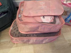 Streissfrei packen mit Packwürfeln
