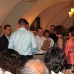 Verleihung des Best-Paper-Awards an eine Gruppe von IBM Zürich