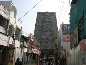Verhuellter Gopuram