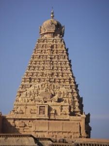 Tempelturm in Tanjore