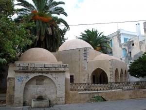 Moschee, jetzt Lager