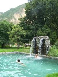 Kati und Stephan im Pool der Oase