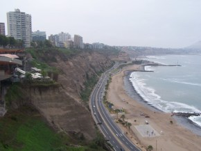 Die grüne Küste vor Miraflores