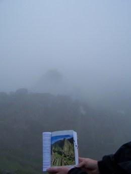 Die Postkartenansicht bei Nebel ...
