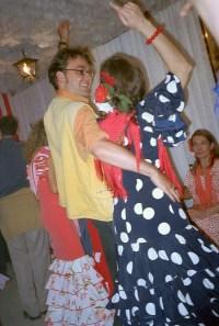 Wenn Touristen Sevillana tanzen I
