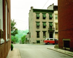 Stephen Shore Church Street and Second Street, Easton, Pennsylvania, June 20, 1974 (c) Stephen Shore, Courtesy 303 Gallery New York