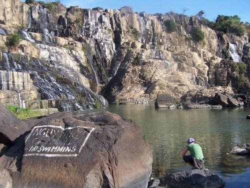 Der Pon Gour Wasserfall