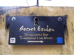 Das Restaurant Secret Garden in Hoi An war das einzige auf meiner Reise, das sich als behindertenhgerecht bewarb