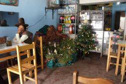 Krippe in einem Mini-Restaurant in Marcara