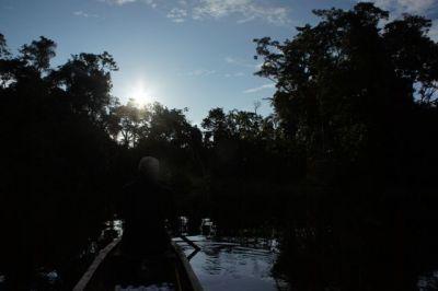 Im Kanu mit Jorge