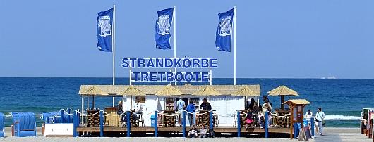 Strandbar in Warnemünde