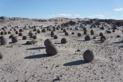 Die Steinkugeln im Valle de la luna