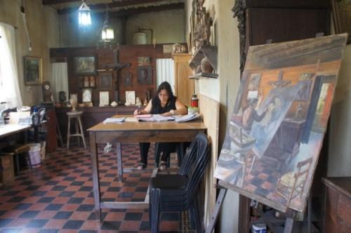 Das Atelier von Gabriel Dubois