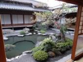 Interior garden 25-room goten, a former villa of the Shimazu clan. Located in the Sengan-en Garden, Kagoshima.