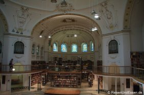 Kuppelsaal in der Landesbibliothek Vorarlberg