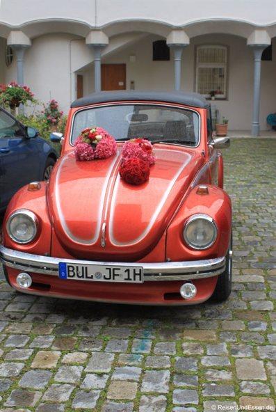 Hochzeit in in der Altstadt von Regensburg