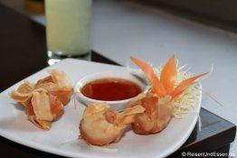 Vorspeise im Thai-Restaurant in Kapstadt