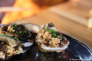 Gegrillte Austern