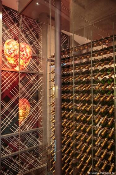 Champagner im Weinturm