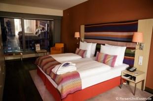 Schlafzimmer in der Präsidentensuite