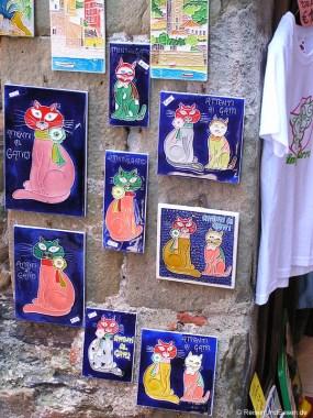 Souvenirs in den Cinque Terre