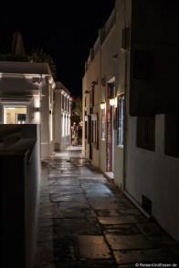 Gasse bei Nacht