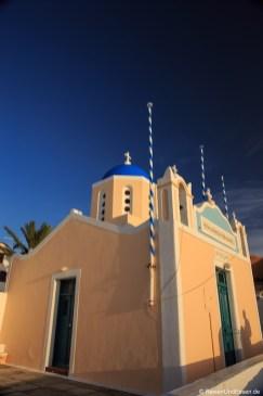 Kuppelkirche im Abendlicht