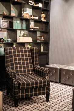 Sessel in der Lobby