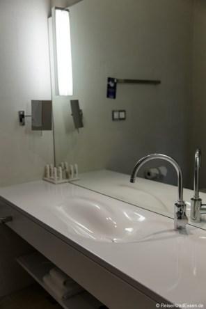 Waschbecken im Badezimmer
