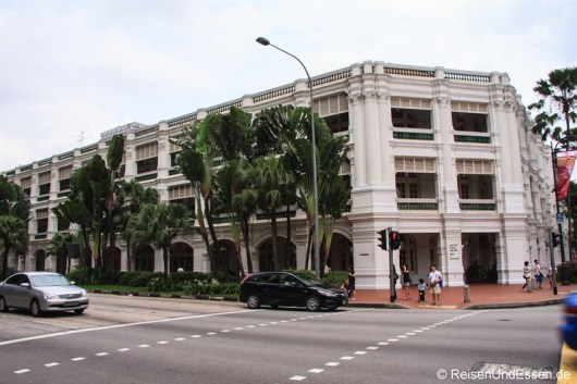 Raffles Gebäude in Singapur