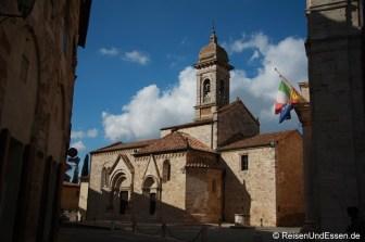Kleine Ortschaft in der Toskana