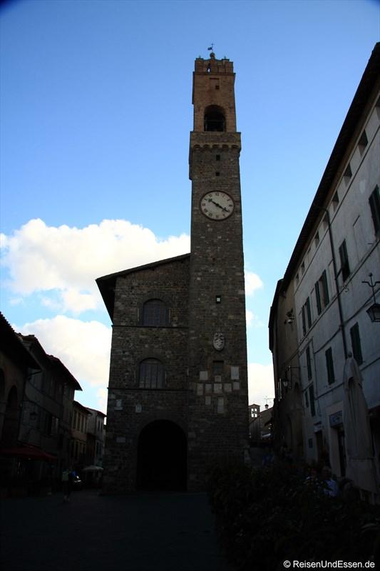 Turm in Montalcino