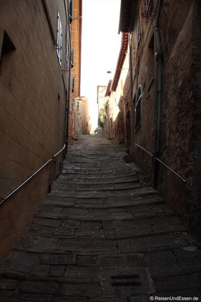 Gasse in Montalcino